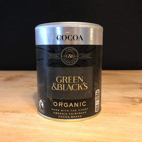 GREEN & BLACKS COCOA 125G