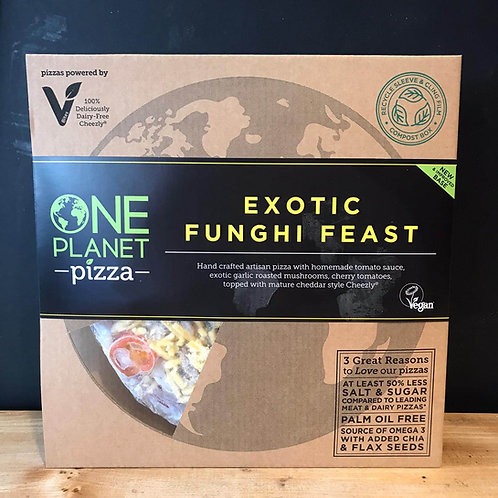 ONE PLANET EXOTIC FUNGHI FEAST PIZZA