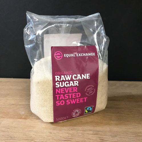 EQUAL EXCHANGE - RAW CANE SUGAR