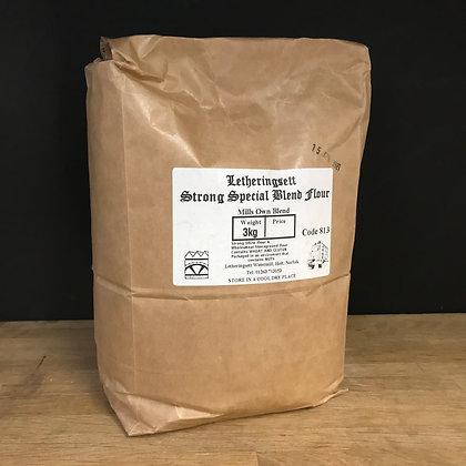 Letheringsett Strong Special Blend Flour 3KG