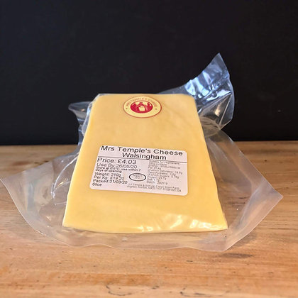 MRS TEMPLE'S CHEESE WALSINGHAM