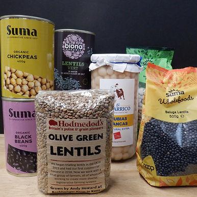 Rice, Grains & Pulses