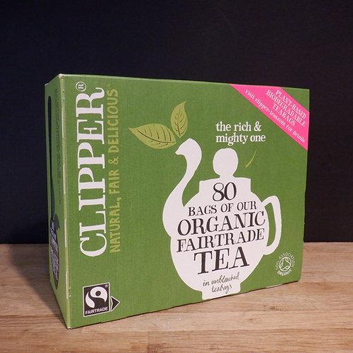 CLIPPER - FAIRTRADE TEA BAGS - 80