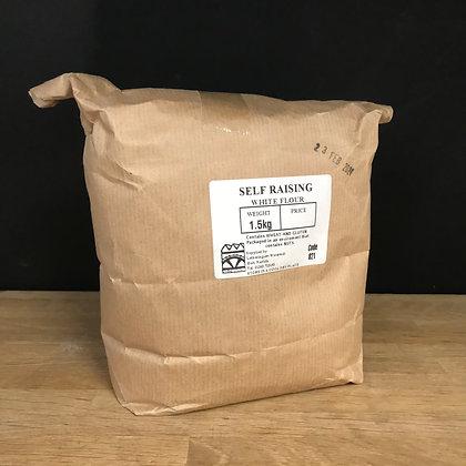 Letheringsett Self Raising White Flour 1.5KG