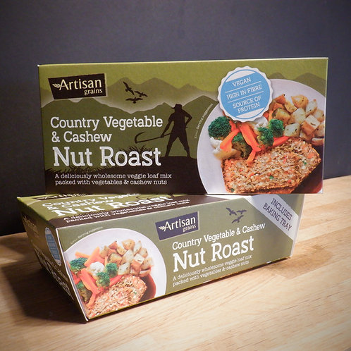 ARTISAN GRAINS - COUNTRY VEGETABLE & CASHEW NUT ROAST 200G