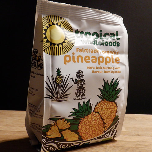 TROPICAL WHOLEFOODS - PINEAPPLE 100G
