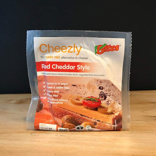 VBITES CHEEZLY RED CHEDDAR STYLE 190g
