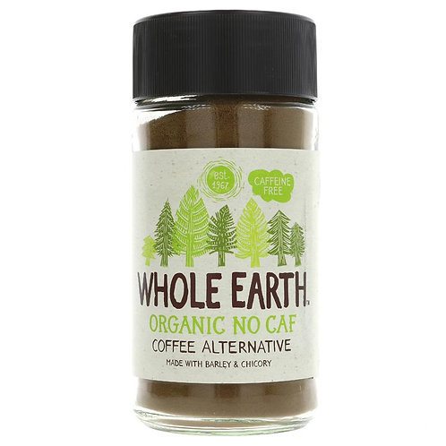 WHOLE EARTH ORGANIC NO CAFF