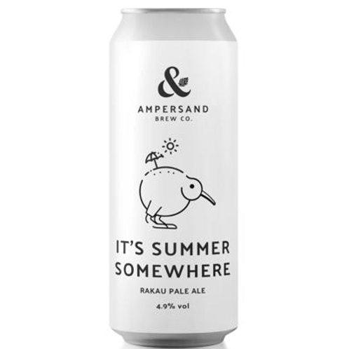 AMPERSAND - IT'S SUMMER SOMEWHERE - 4.9% ABV