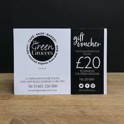 The Green Grocers £20 Gift Card