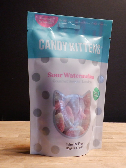CANDY KITTENS - SOUR WATERMELON 125G