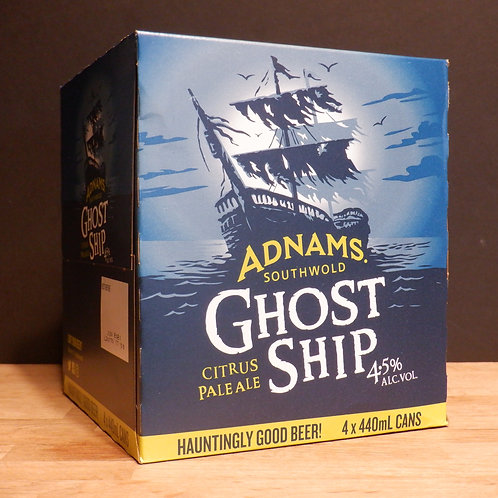 ADNAMS - GHOST SHIP 4.5% ABV, 4X440ML CANS