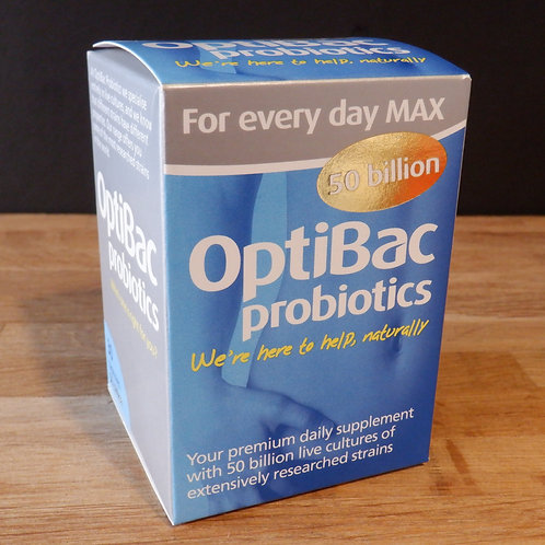 OPTIBAC - FOR EVERY DAY MAX - 50 BILLION - 30 CAPSULES