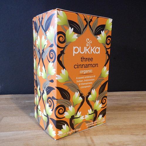 PUKKA - THREE CINNAMON TEA - 20 BAGS