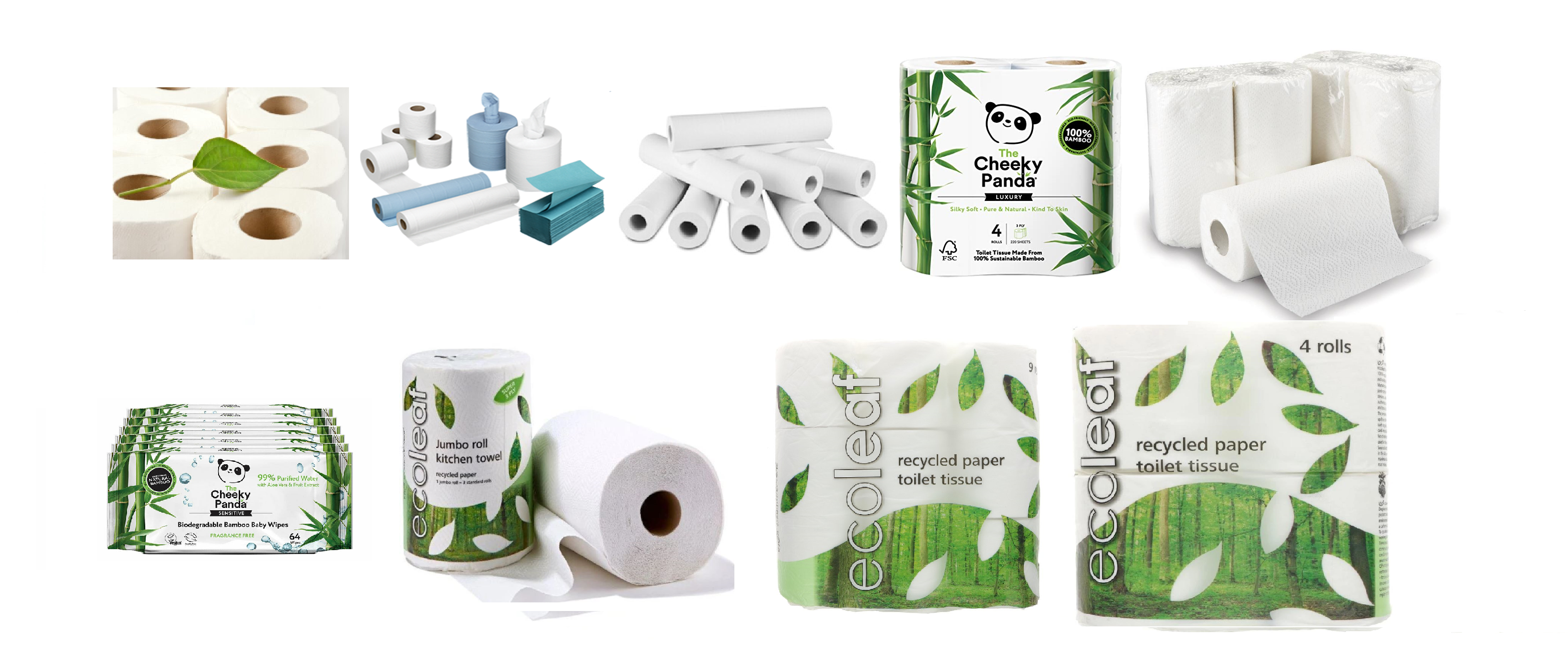 toilet paper selection