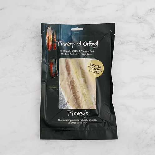PINNEY'S OF ORFORD - SMOKED MACKEREL FILLETS