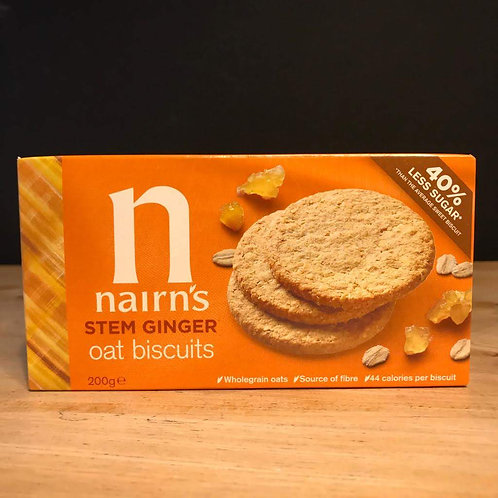 NAIRNS GINGER OAT BISCUITS