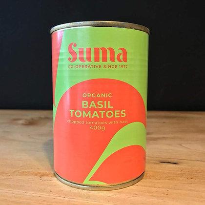 SUMA ORGANIC PEELED TOMATOES