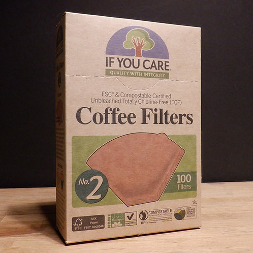 IF YOU CARE - COFFEE FILTER PAPERS NO.2