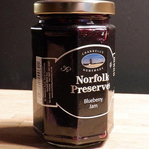 NORFOLK PRESERVES - BLUEBERRY JAM 340G