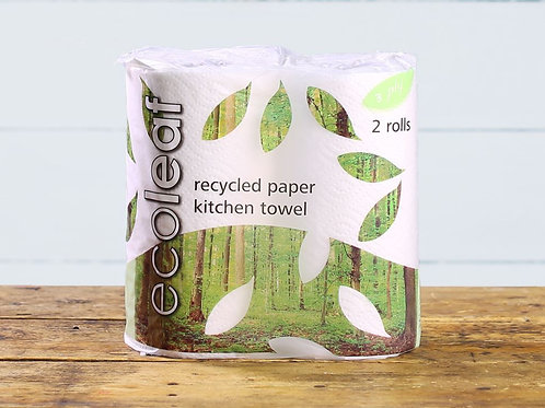 ECOLEAF KITCHEN TOWEL 2 Rolls