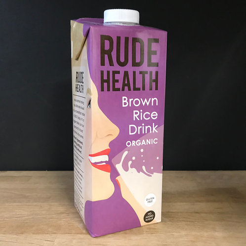 RUDE HEALTH - BROWN RICE DRINK - ORGANIC