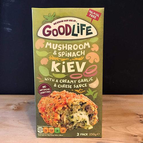 GOODLIFE MUSHROOM & SPINACH KIEV