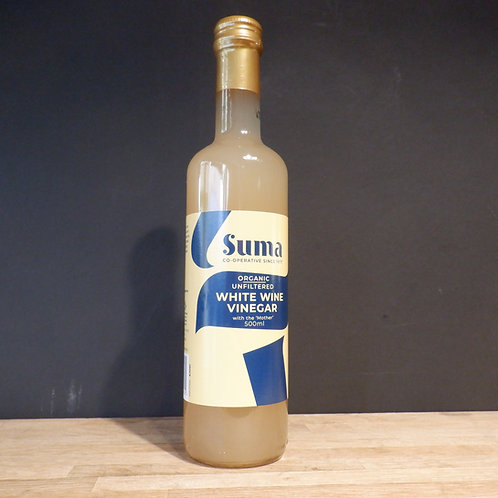 SUMA - WHITE WINE VINEGAR 500ML