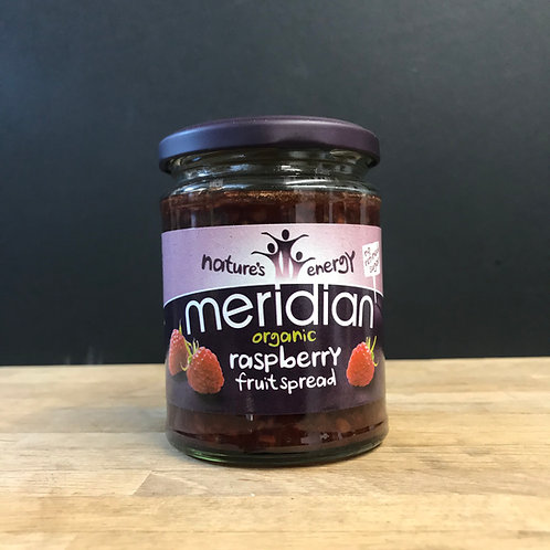 MERIDIAN ORGANIC RASPBERRY FRUIT SPREAD