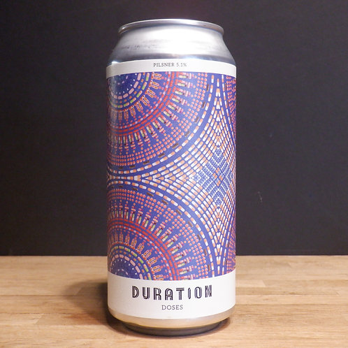 DURATION - DOSES - 440ML, 5.1% ABV