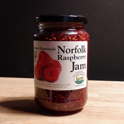 EMMA TACON'S HOMEMADE RASPBERRY JAM 454G