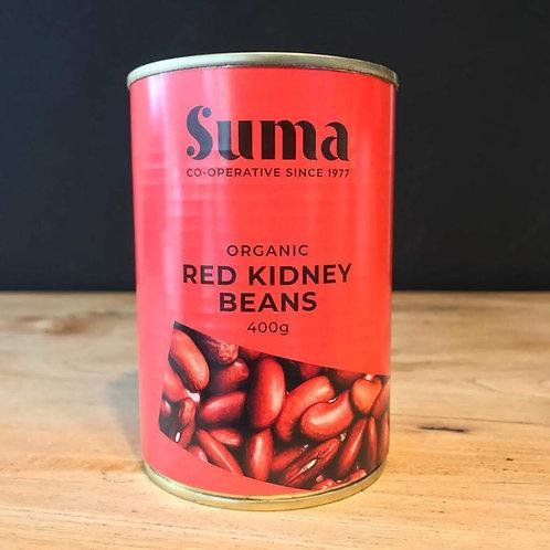 SUMA ORGANIC TINNED RED KIDNEY BEANS