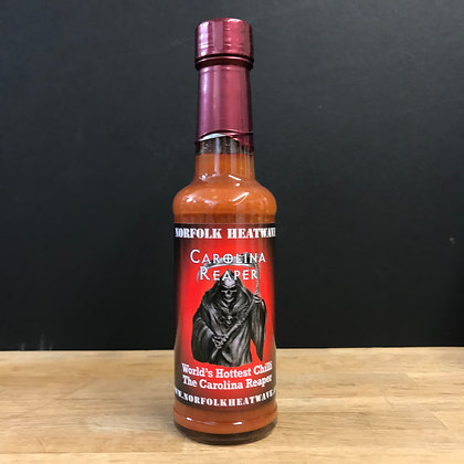 Carolina Reaper Sauce (our hottest!) 150ml