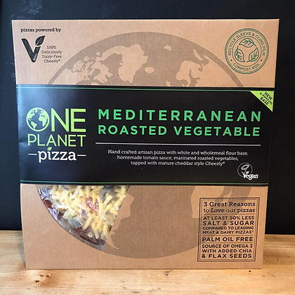 ONE PLANET MED VEG PIZZA