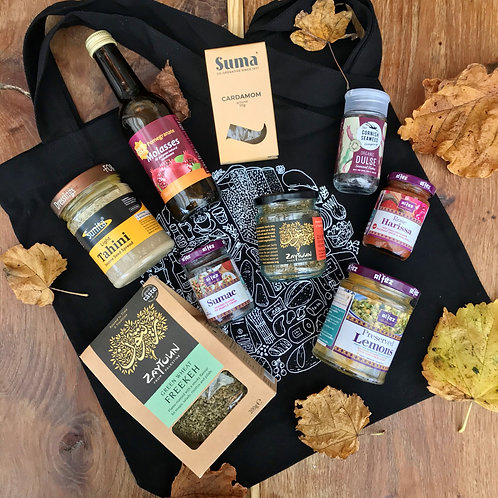 GG'S FLAVOURS OF THE MIDDLE EAST TOTE