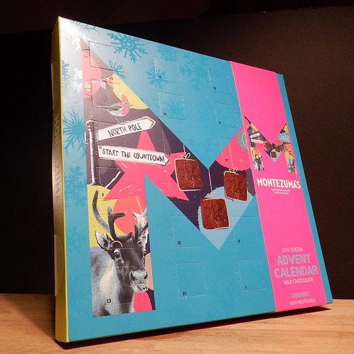 ADVENT CALENDAR - MONTEZUMAS - MILK CHOCOLATE