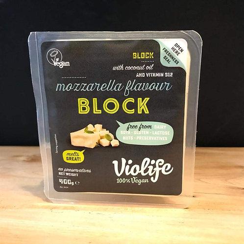 VIOLIFE MOZZARELLA FLAVOUR BLOCK 400g