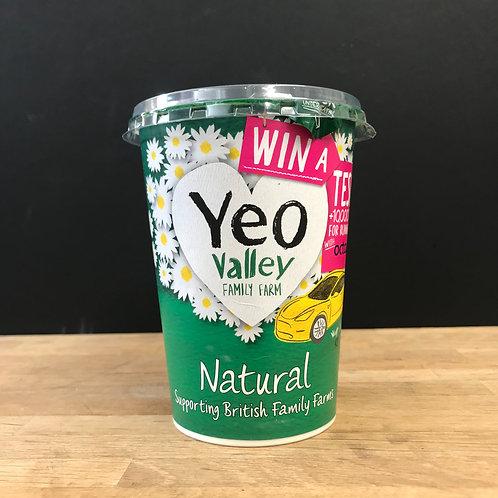 YEO VALLEY NATURAL YOGURT 450G