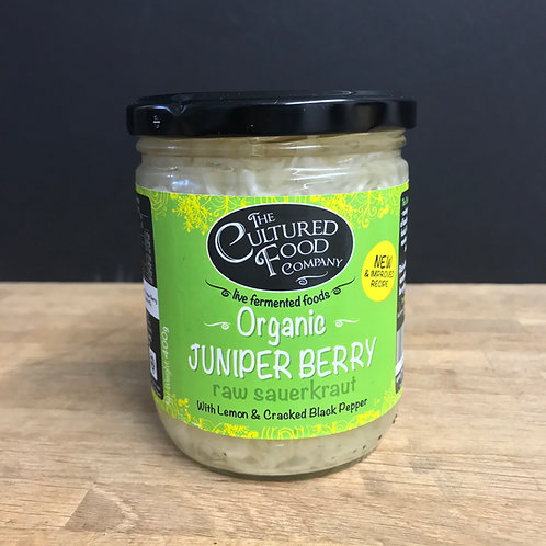 CULTURED FOOD JUNIPER BERRY RAW SAUERKRAUT
