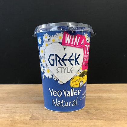 YEO VALLEY GREEK STYLE YOGURT 450G
