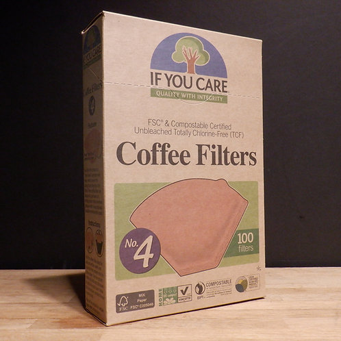 IF YOU CARE - COFFEE FILTER PAPERS NO.4