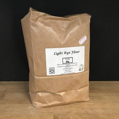 Letheringsett Light Rye Flour 3KG