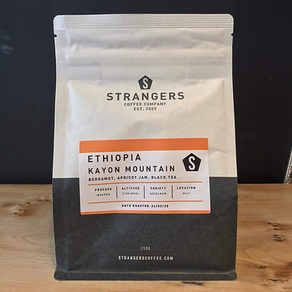 ETHIOPIA KAYON MOUNTAIN  STRANGERS COFFEE - GROUND