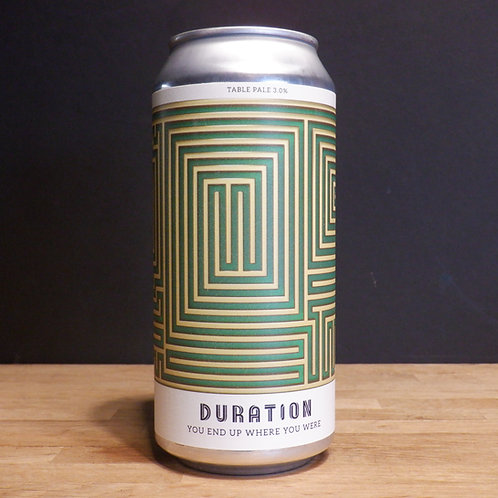 DURATION - YOU END UP WHERE YOU WERE - 440ML, 3% ABV