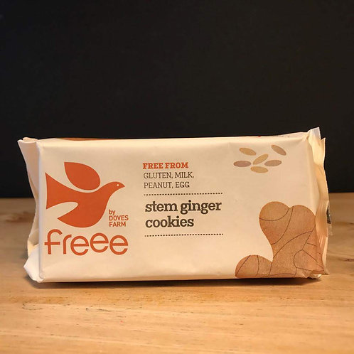 DOVES GLUTEN FREE GINGER COOKIES BISCUIT