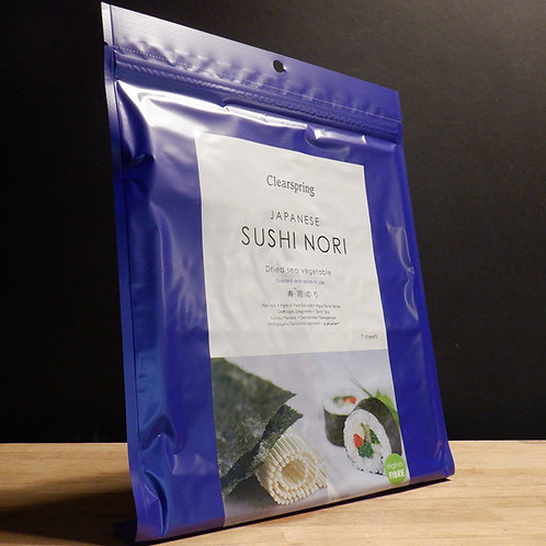 CLEARSPRINGS -JAPANESE SUSHI NORI - 7 SHEETS
