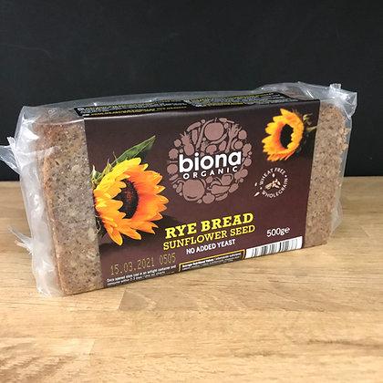 Biona Rye Bread Sunflower Seed