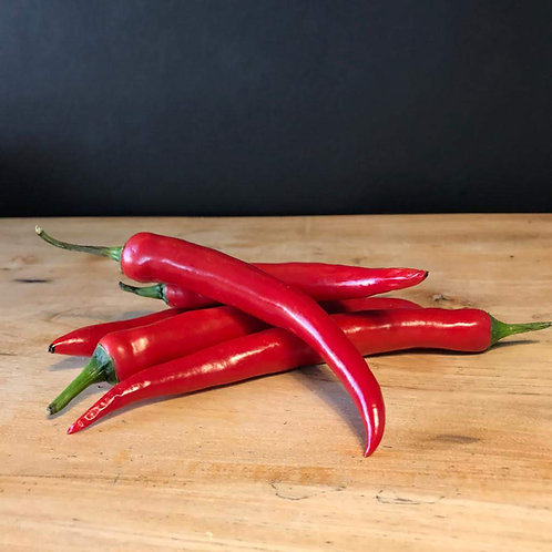 CHILLI RED PEPPERS (100g)