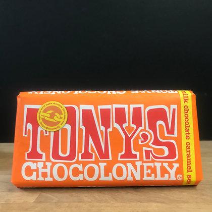 TONY'S CHOCOLONELY MILK CHOCOLATE CARAMEL