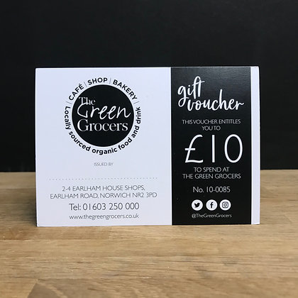 The Green Grocers £10 Gift Card